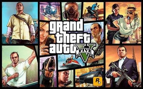 《侠盗猎车手5》(Grand Theft Auto V》
