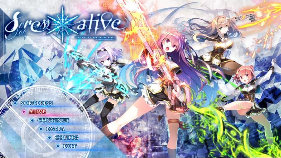 Sorceress*Alive! (世界末日陨落之星)全线汉化!个人私货!强烈推荐