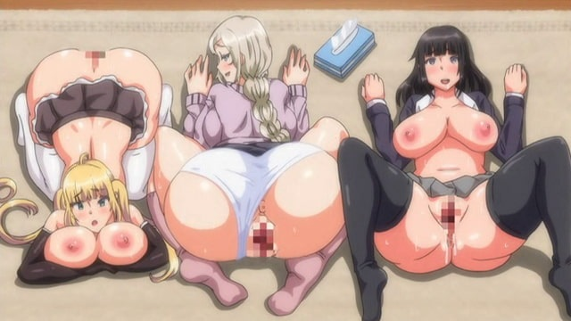 【里番/中字】OVA むっつりドスケベ露義母姉妹の本質見抜いてセックス三昧  #1+2卷