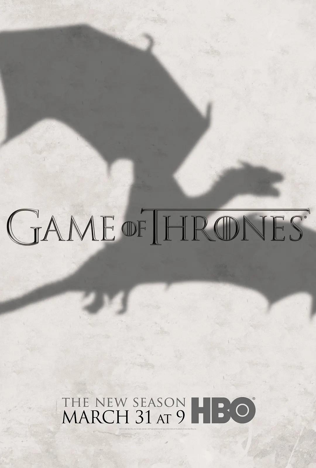 权力的游戏 第三季 Game of Thrones Season 3【9.99G】