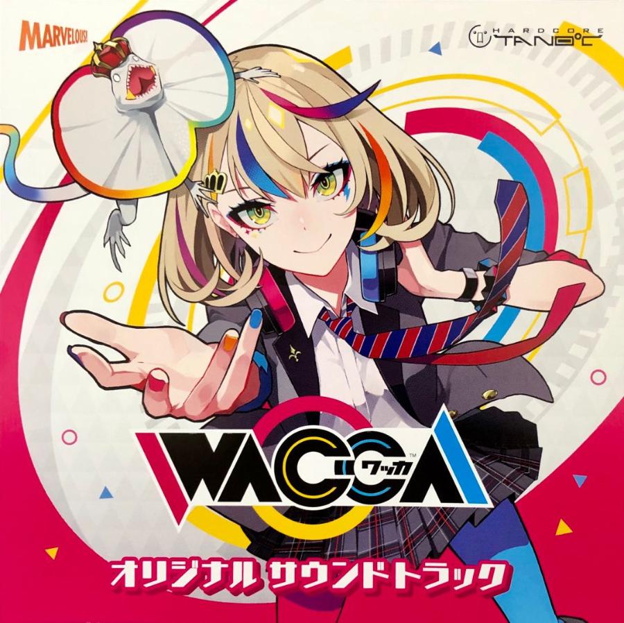 [MARVE-0001] WACCA ORIGINAL SOUNDTRACK (MP3 44.1KHZ / 16bit / 44.5M)